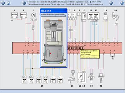 IDC3 Электросхема и
